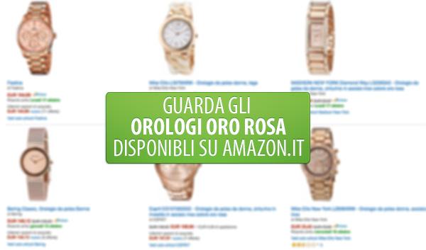 orologi-oro-rosa-offerta-amazon