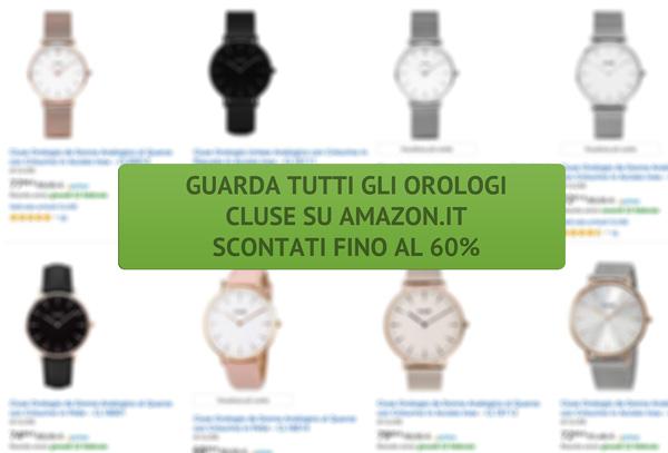 di buona qualità noi sporchi arrivo Comprare Orologi Cluse: dove acquistarli?